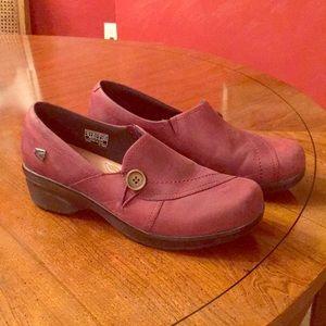 Keen Burgundy/Dark Red Loafers